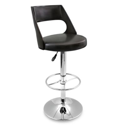 LumiSource Presta Wenge Barstool