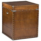Steamer Trunk End Table