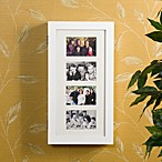 Photo Display Wall Mount White Jewelry Armoire
