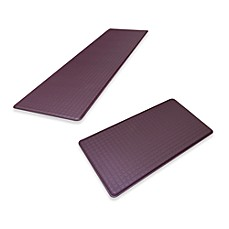 GelPro® Original Gel Filled Anti-Fatigue Trellis Mat - Plum
