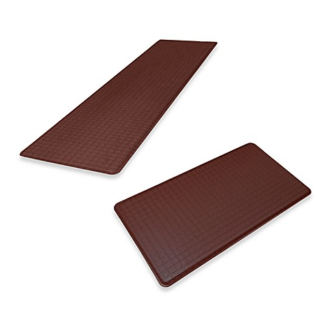 GelPro® Original Gel Filled Anti-Fatigue Trellis Runner - Mocha