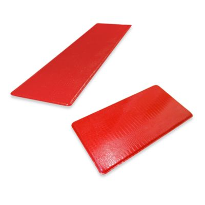 GelPro Original Gel-Filled Anti-Fatigue Crocodile Mat in Red