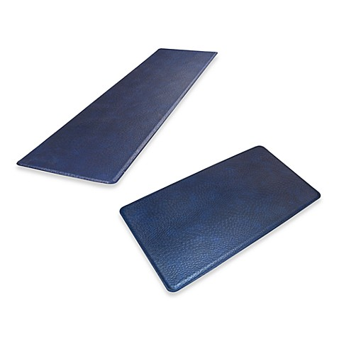 GelPro Original Gel Filled Anti-Fatigue Ostrich Kitchen Mat in Atlantic Blue