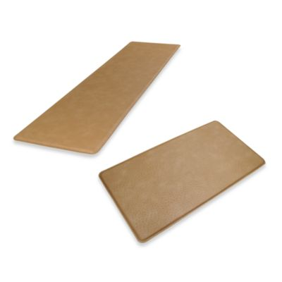 GelPro Original Gel-Filled Anti-Fatigue Ostrich Kitchen Mat in Khaki