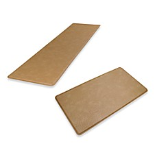 GelPro® Original Gel-Filled Anti-Fatigue Ostrich Kitchen Mat in Khaki