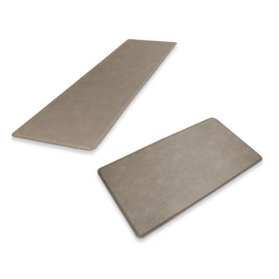 GelPro Original Gel Filled Anti-Fatigue Ostrich Mat in Riverbed Grey