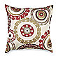 Suzanni 20-Inch Toss Pillow in Rust