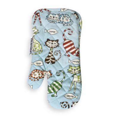 Cat's Pajamas Oven Mitt