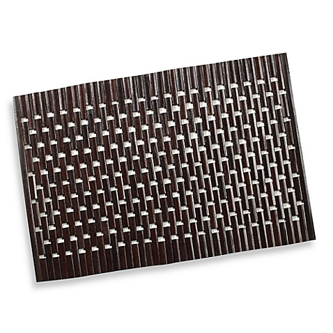 Logs Placemat in Brown