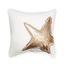 Luxe South Island 16-Inch Square Throw Pillow