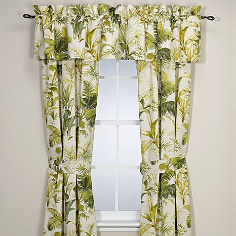 Tommy Bahama® Home Island Botanical 84-Inch Window Curtain Panel Pair