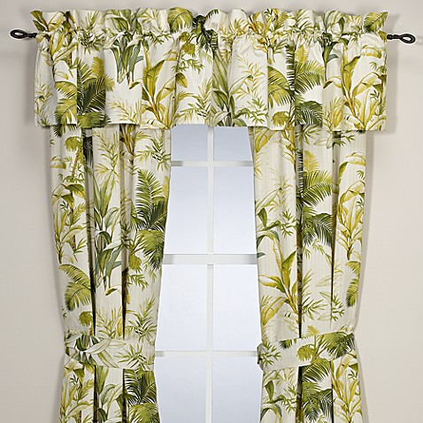 Buy Tommy Bahama 174 Home Island Botanical Window Valance
