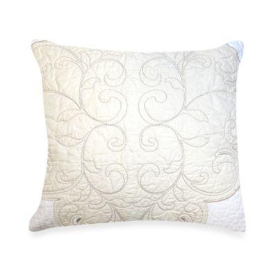 Lenox® Opal Innocence™ 18-Inch Square Toss Pillow