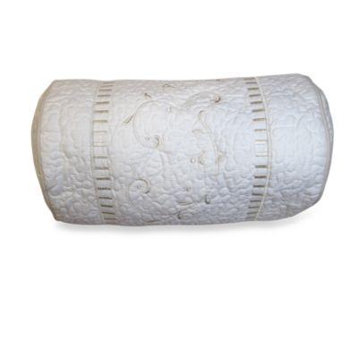 Lenox® Opal Innocence™ Neckroll Toss Pillow