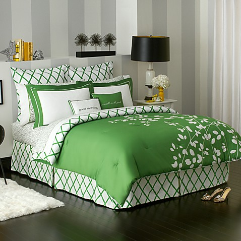 Kate spade new york gardner street comforter bed bath for Bed bath and beyond kate spade
