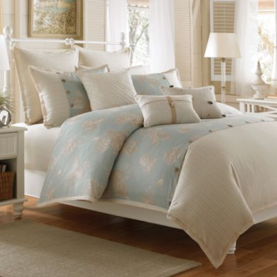 Coastal Life Lux Seashell Twin Duvet Cover