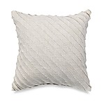 Luxe Seashell 18-Inch Square Toss Pillow