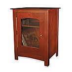 Crosley Bardstown Entertainment Cabinet in Paprika