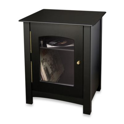 Crosley Bardstown Entertainment Cabinet in Black