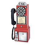 Crosley 1950's Classic Pay Phone CR56-RE- Red