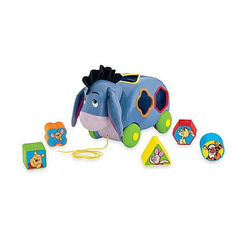 Fisher-Price® Disney's Winnie the Pooh Eeyore's Pull-Along Shape Sorter