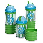 Mud Pie™ Baby Blue Initial Sip N' Munch