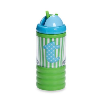 "Mud Pie™ Baby Blue Initial ""T"" Sip N' Munch"