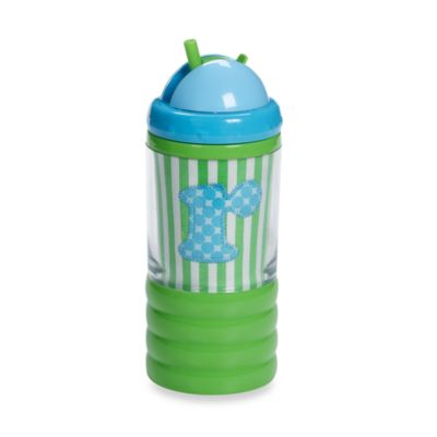 "Mud Pie™ Baby Blue Initial ""R"" Sip N' Munch"