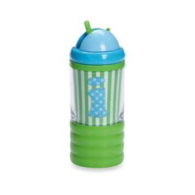 "Mud Pie™ Baby Blue Initial ""I"" Sip N' Munch"