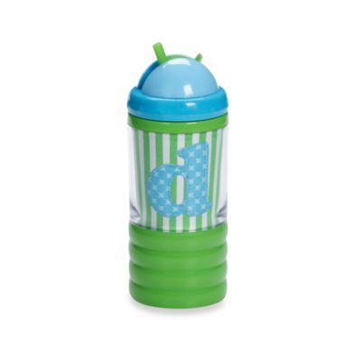 "Mud Pie™ Baby Blue Initial ""D"" Sip N' Munch"