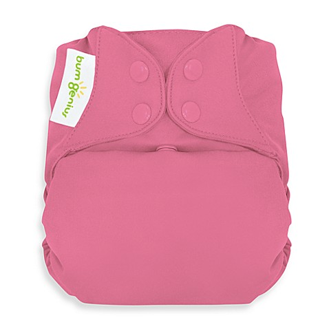 bumGenius™ Freetime Cloth Diaper with Snap Closures in Zinnia
