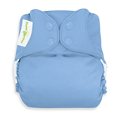 bumGenius™ Cloth Diaper with Snap Closures in Twilight