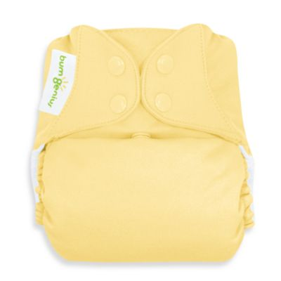 bumGenius™ Cloth Diaper with Snap Closures in Butternut