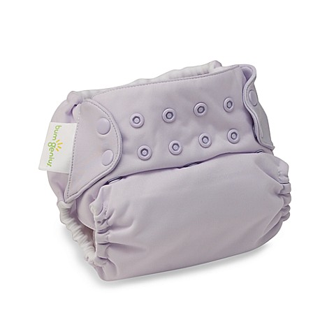 bumGenius Cloth Diaper with Snap Closures - Bubble