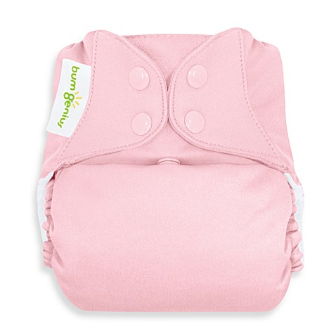 bumGenius™ Cloth Diaper with Snap Closure in Blossom