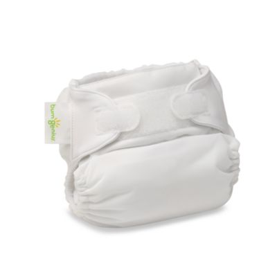 bumGenius™ Hook & Loop Cloth Diaper in White