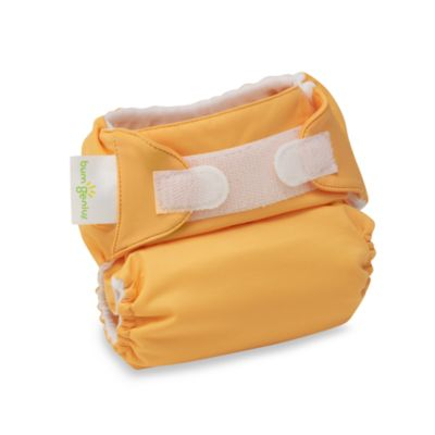 bumGenius™ Hook & Loop Cloth Diaper in Clementine