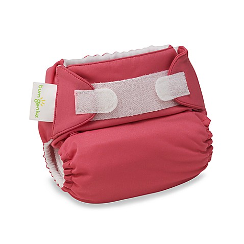 bumGenius™ Hook & Loop Cloth Diaper in Zinnia