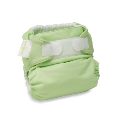 bumGenius™ Hook & Loop Cloth Diaper in Grasshopper