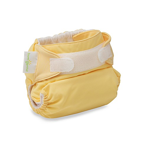 bumGenius™ Hook & Loop Cloth Diaper in Butternut