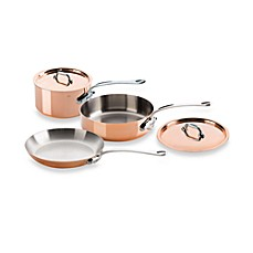 Mauviel M'150S Copper 5-Piece Cookware Set and Open Stock