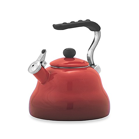 Farberware® Athena 3-Quart Tea Kettle in Red
