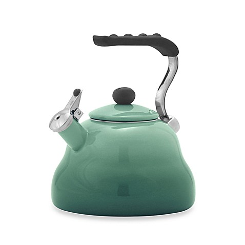 Farberware® Athena 3-Quart Tea Kettle in Green