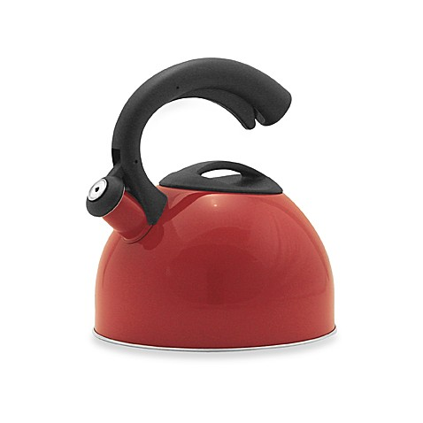 Remedy Daisy 3-Quart Tea Kettle in Red