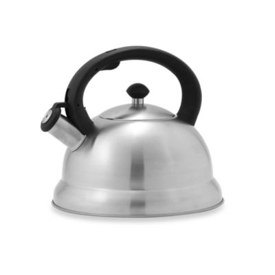 Remedy Bell 3-Quart Tea Kettle in Stainless Steel
