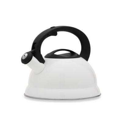Remedy Bell 3-Quart Tea Kettle in White