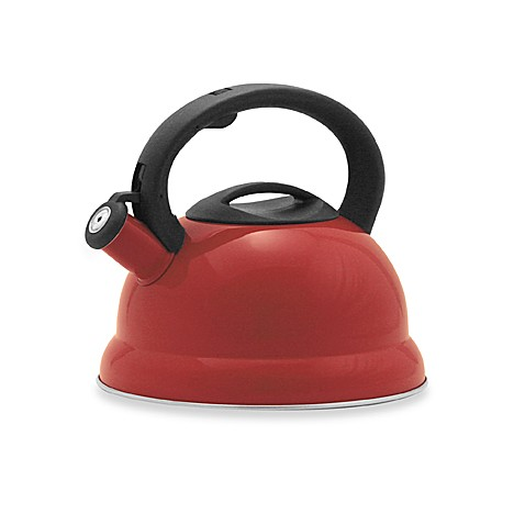 Remedy Bell 3-Quart Tea Kettle in Red