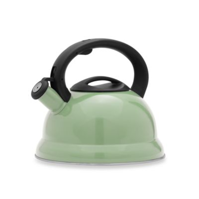 Remedy Bell 3-Quart Tea Kettle in Green