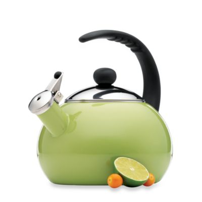 Farberware® Luna 2 1/2-Quart Tea Kettle in Green