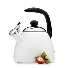Farberware® Bella 2.5-Quart Tea Kettle in White